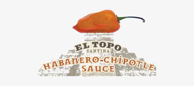 El Topo Cantina Habanero Chipotle Hot Sauce Logo - Hot Sauce, transparent png #4429593