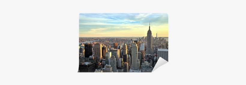 New York City Midtown With Empire State Building At - New York City, transparent png #4430052