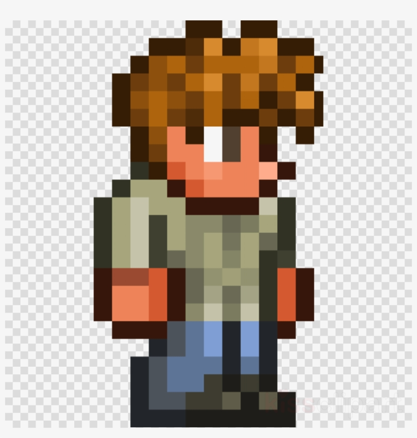 Terraria Guide Png Clipart Terraria Minecraft Non-player - Terraria Guide Png, transparent png #4430054