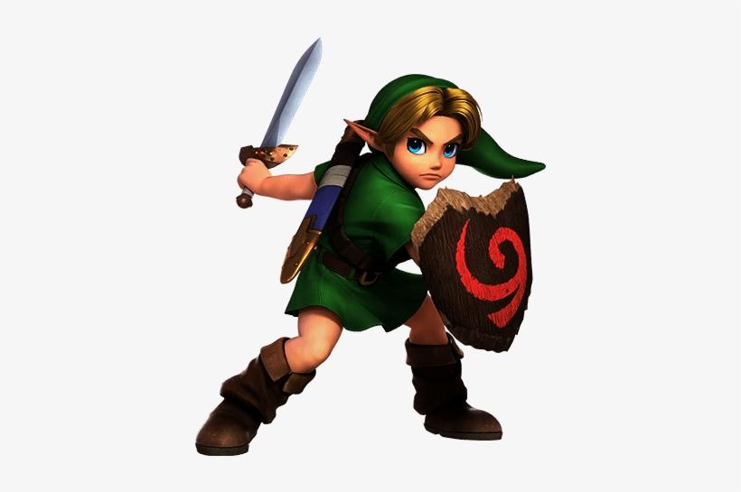 Young Link Super Smash Bros Ultimate - Super Smash Bros Ultimate Young Link, transparent png #4430240