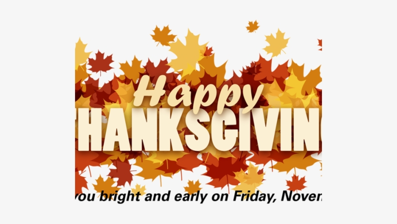 Happy Thanksgiving 24 - Happy Thanksgiving Email Banner, transparent png #4430571