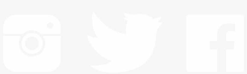 Twitter Logo Black Png - Facebook Instagram Twitter Logo White, transparent png #4438646