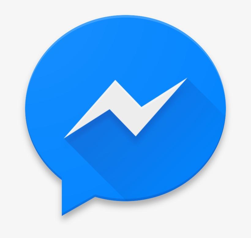Messanger, Cloud, App, Storage, Facebook, Social, Fb - Facebook Messenger Logo Icon, transparent png #4439206