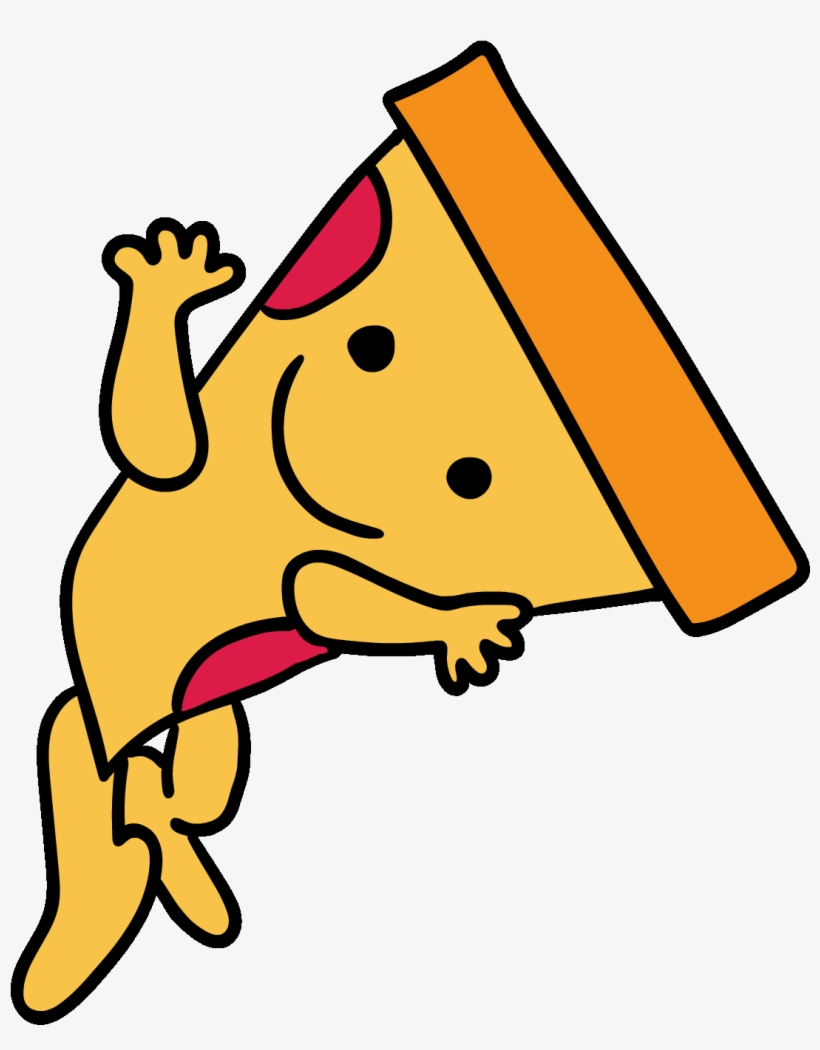 Dance Pizza Sticker By Buzzfeed Animation - Dancing Pizza Animated Gif, transparent png #4441725