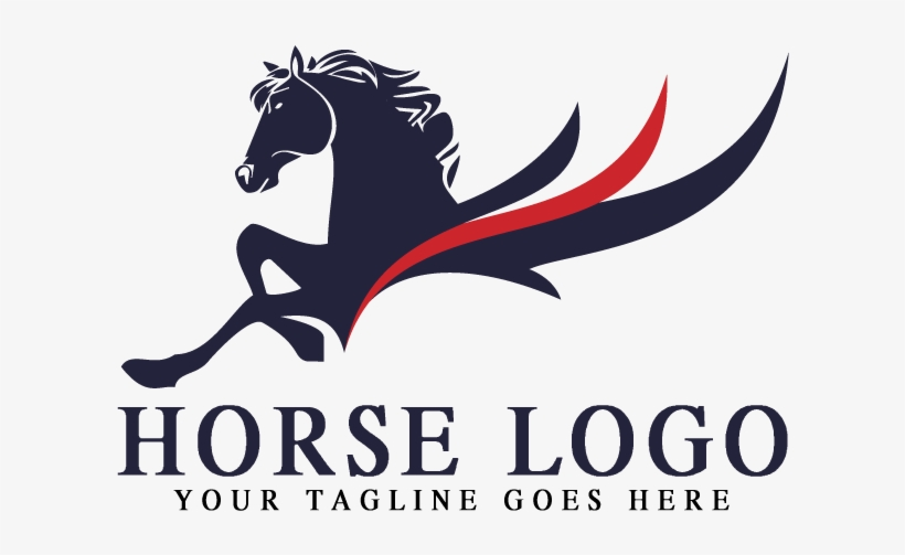 Stallion Horse Race Logo Horse Racing Free Transparent Png Download Pngkey