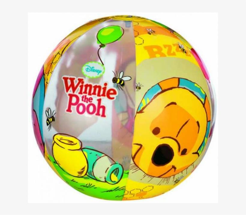Intex Winnie The Pooh Beach Ball - Winnie The Pooh Beach Ball, transparent png #4473247