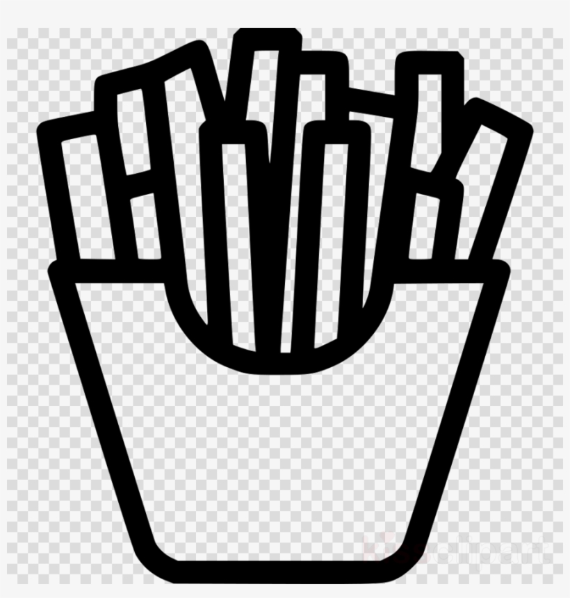 Download French Fries Icon Png Clipart French Fries - French Fries Icon, transparent png #4475012