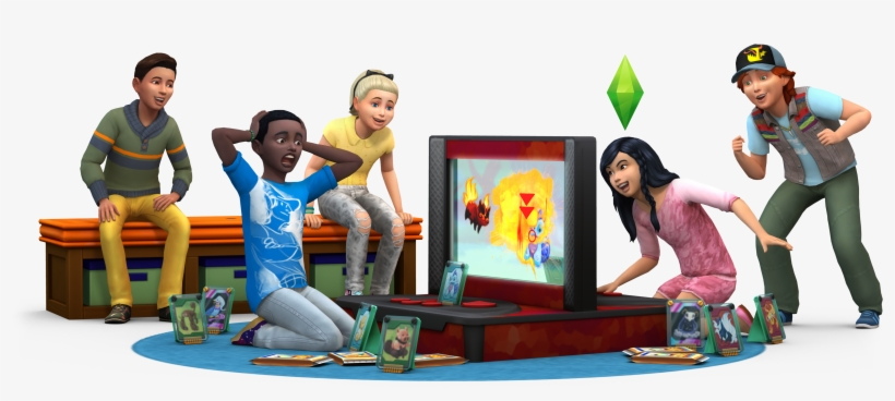 Sims 4 Kids Room Stuff Render, transparent png #4481491