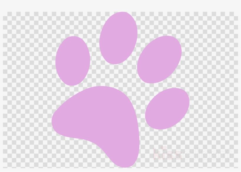 Pink Paw Print Transparent Clipart Dog Paw Clip Art - Garnett Mimms Prove It To Me / Looking, transparent png #4482073