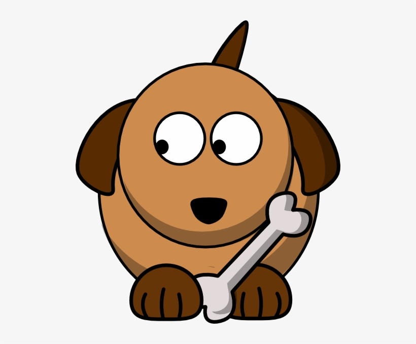 Dog Looking Left 02 Clip Art At Clker - Dog Clker, transparent png #4482077
