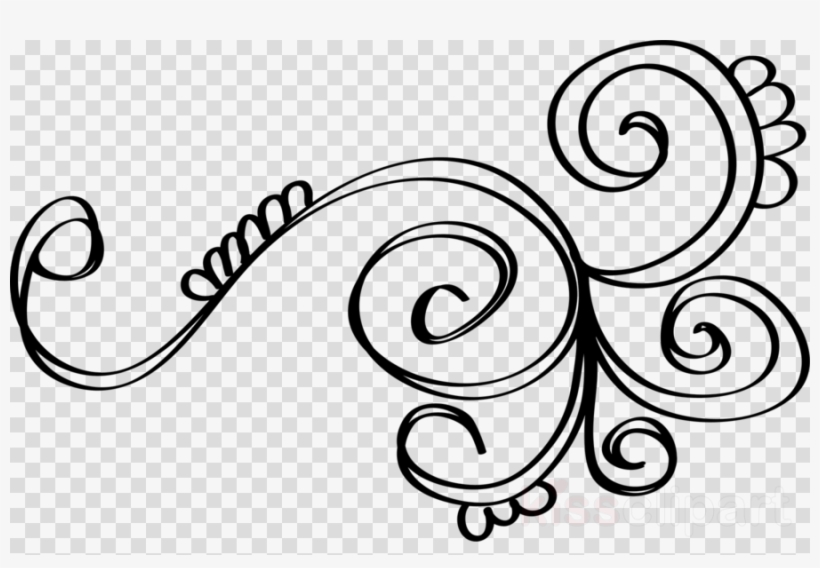 Download Swirl Doodle Png Clipart Design Coloring Book - Doodles Png ...