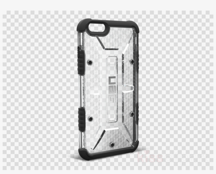 Uag Iphone 5c Clipart Iphone 5 Iphone 6 Plus Iphone - Uag Composite Case For Iphone 6/6s Plus - Ice/black, transparent png #4484937