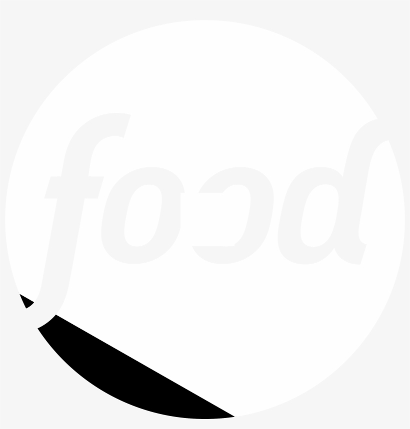 Food Network 2 Logo Black And White Free Transparent Png Download
