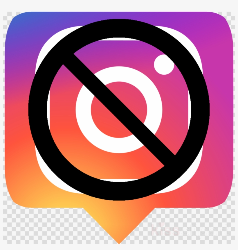 Download No Instagram Clipart Social Media Instagram - Clip Art, transparent png #4487124