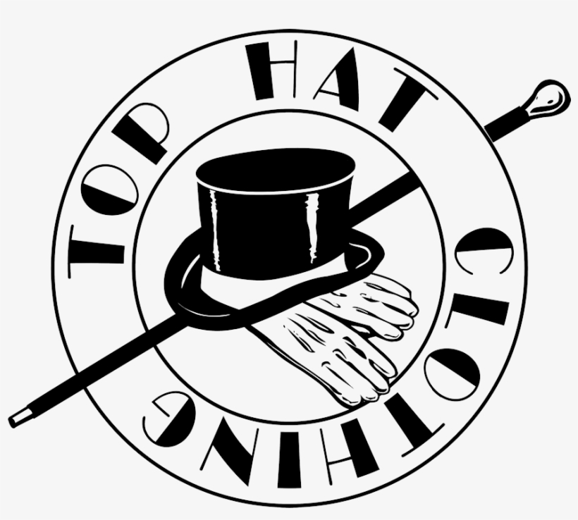 Pix For   Cool Top Hat Drawings - Top Hat Logos - Free Transparent ... 47a814bf6