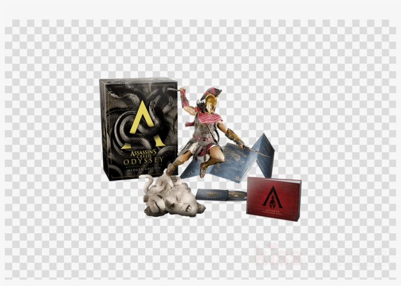 Assassin's Creed Odyssey Medusa Edition Clipart Assassin's - Assassin's Creed Medusa Edition, transparent png #4489807