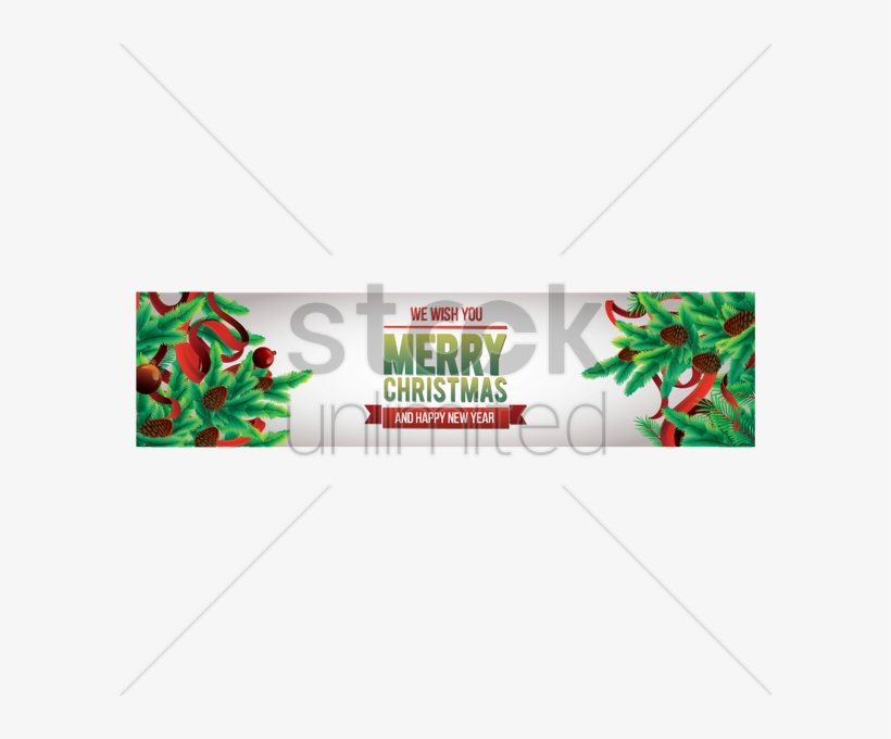 Merry Christmas Banner Png - We Wish You A Merry Christmas Banner, transparent png #4496099