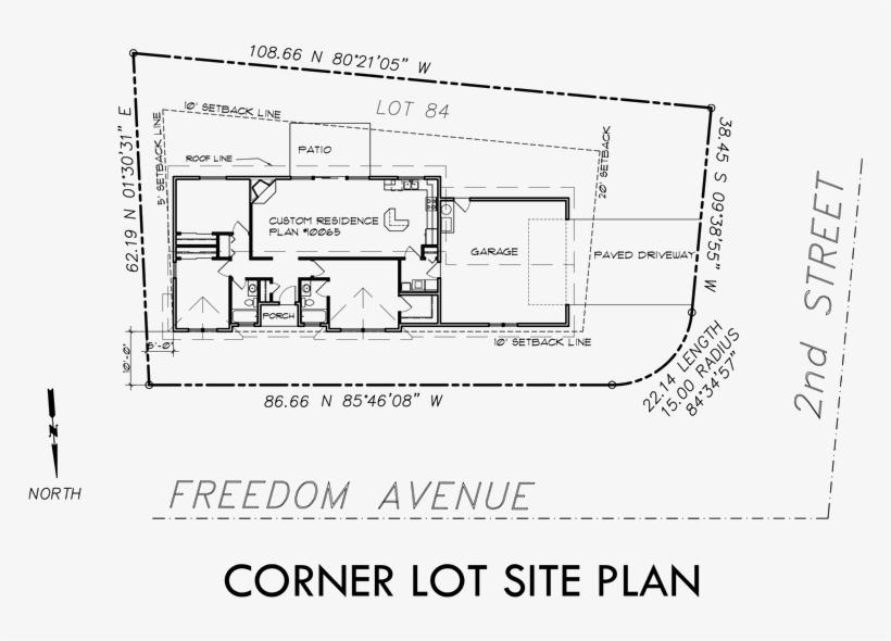 Single Level House Plans Corner Lot House Plans House Free Transparent Png Download Pngkey