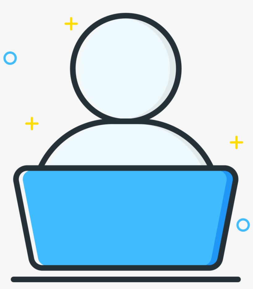 Download Svg Download Png - User Icon Laptop, transparent png #4498716