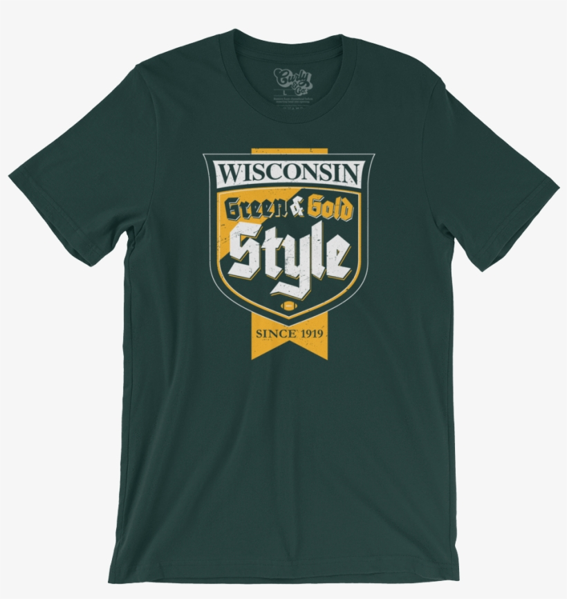 Green Bay Packers Green Gold Style Shirt Png Packers - D Generation X Logo 2018, transparent png #4498766