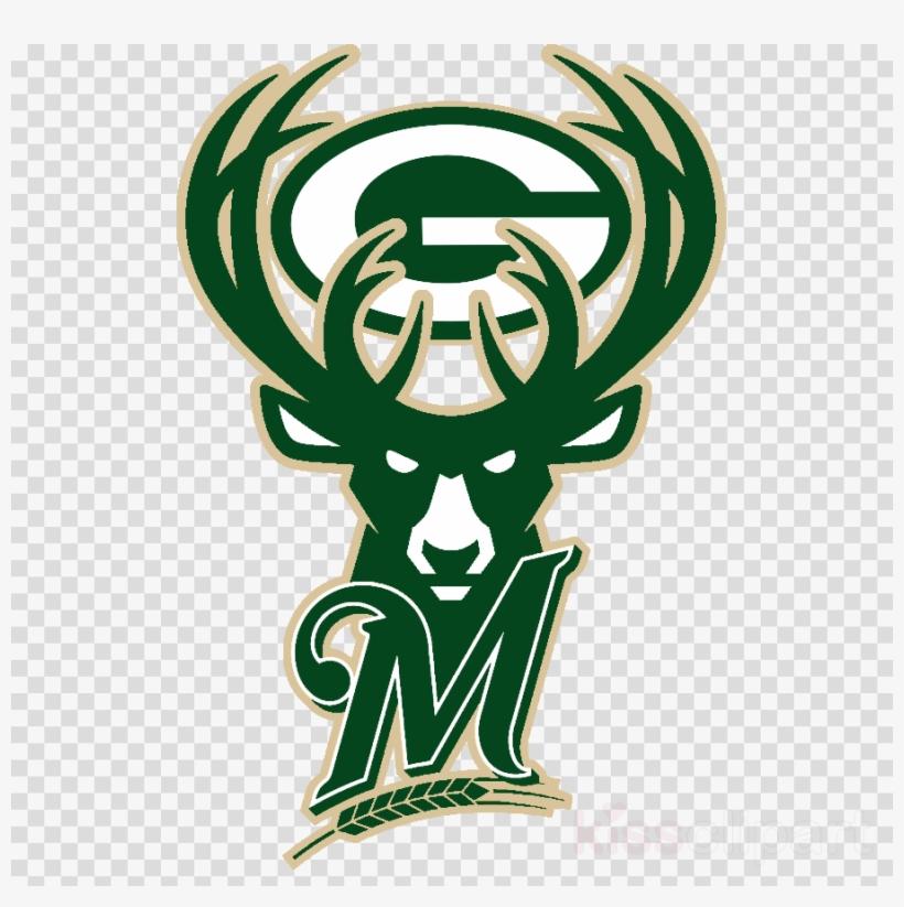 Milwaukee Bucks Perfect Cut Color Decal - Milwaukee Bucks Logo Png, transparent png #4499094