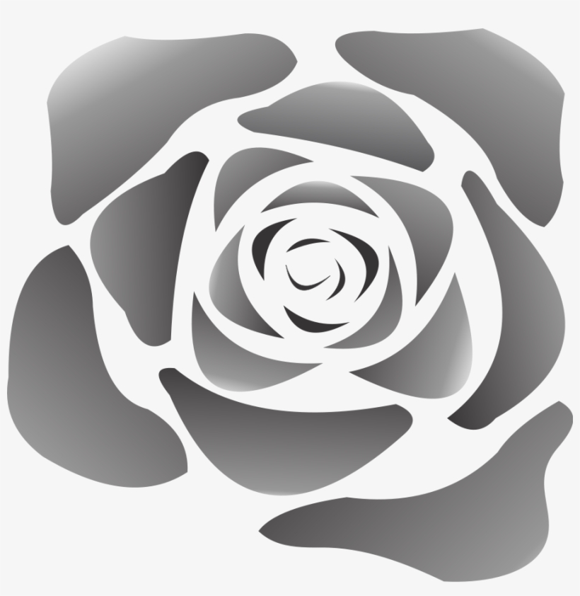 Flower Transparent Png Pictures - Waterless Tattoos, Rose ($0.99@25 Min), transparent png #450506