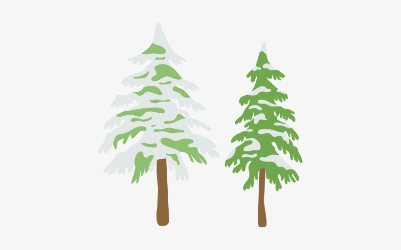Trees Svg Scrapbook Cut File Cute Files - Cut Christmas Tree Clipart, transparent png #450535