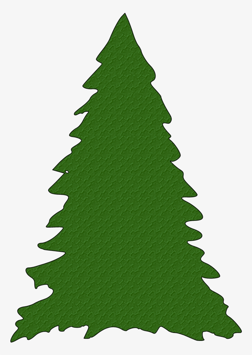 Tree Clipart Silhouette At Getdrawings - Christmas Tree Svg Free, transparent png #450646