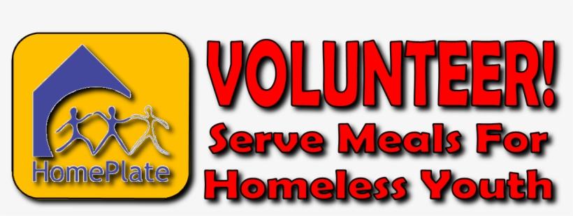 Home Plate Volunteer - Volunteering, transparent png #450911