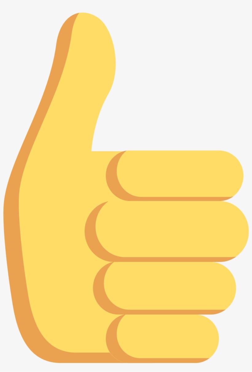 Thumbs Up Emoji Png Transparent - Thumbs Up Sticker, transparent png #451702