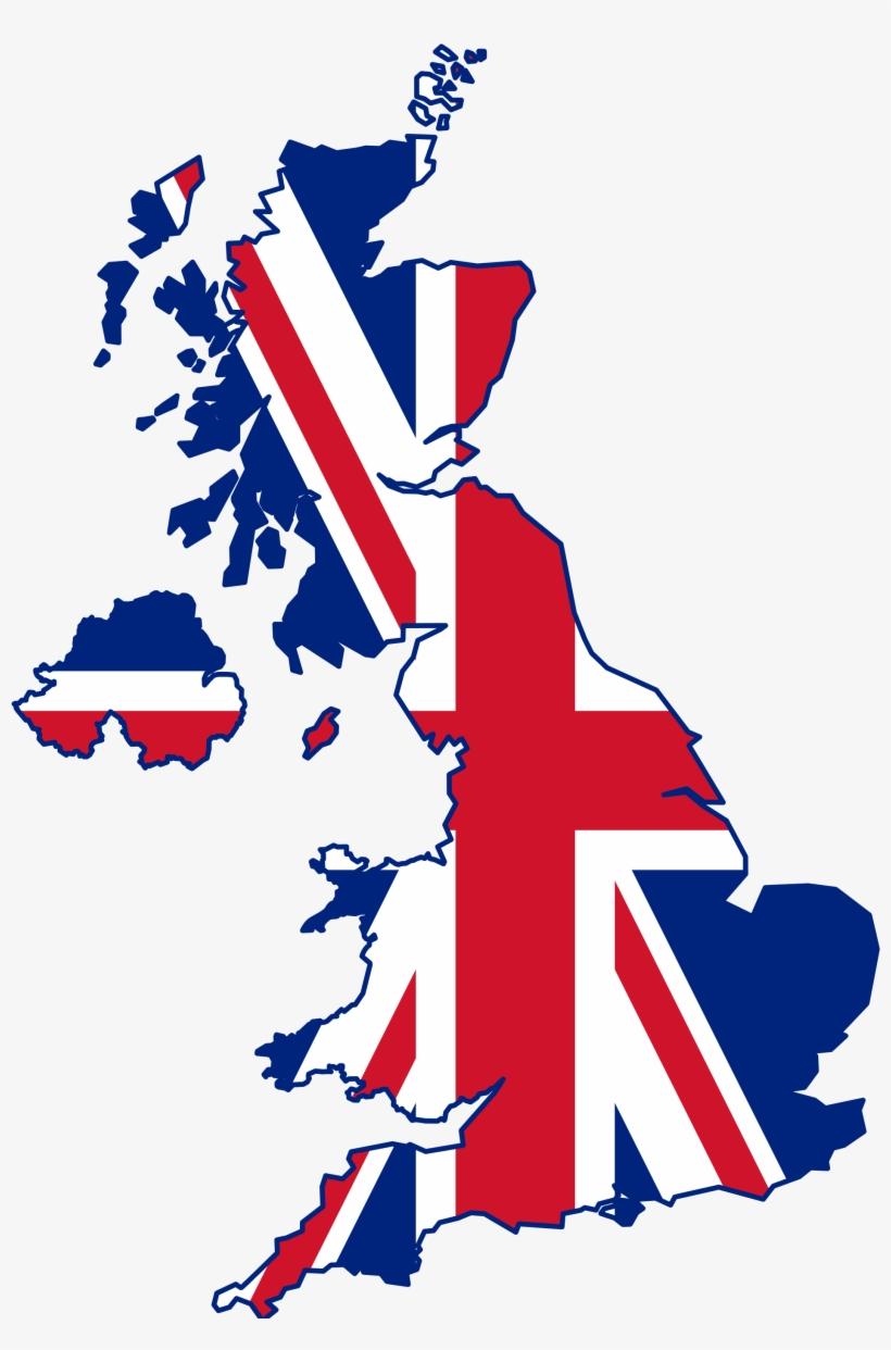 English Language Speaking Classes In Mumbai - United Kingdom Flag Map, transparent png #451757