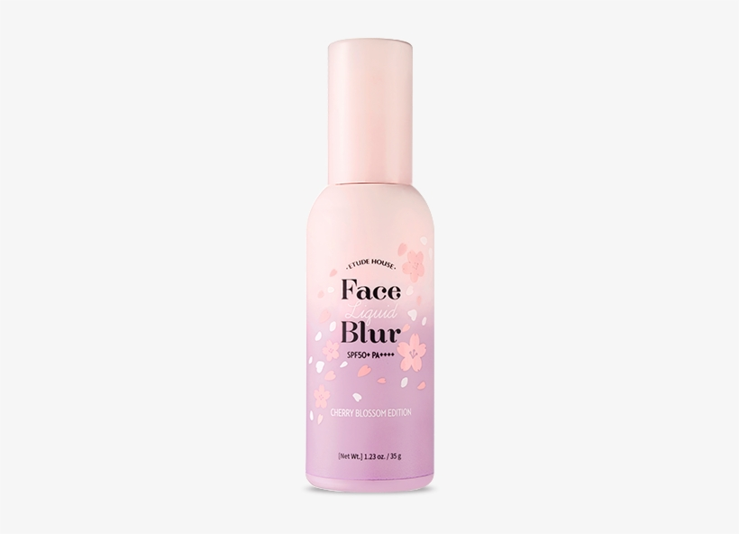 [cherry Blossom Edition] Face Liquid Blur Spf50 /pa - Etude House Face Blur Cherry Blossom, transparent png #452121