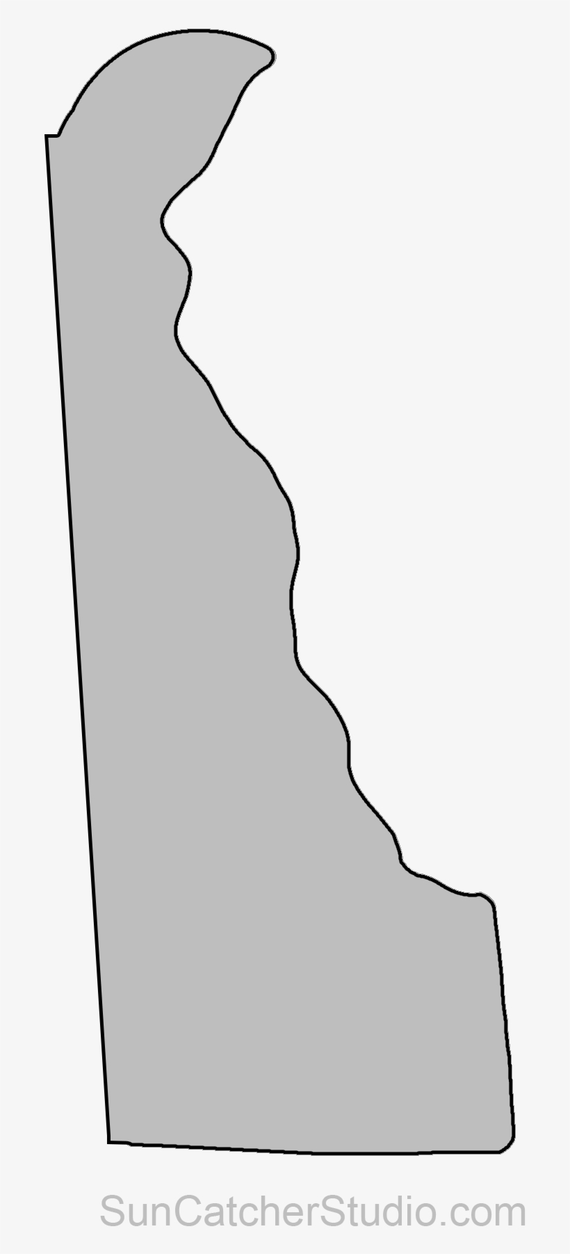 on delaware state map