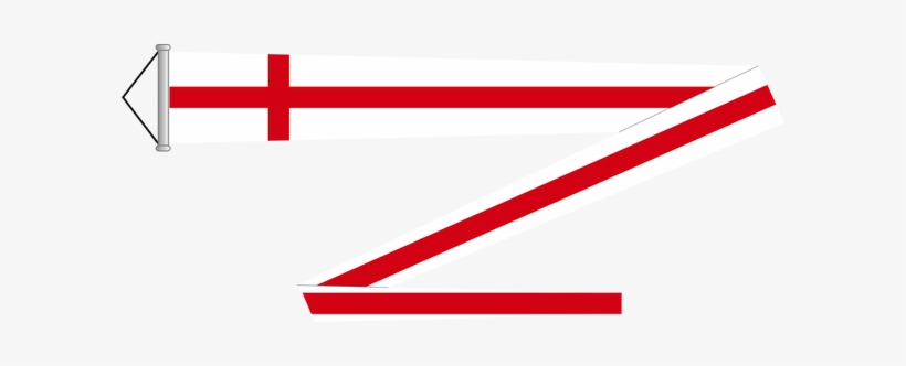 England Pennant - English Flag Pennant, transparent png #452707