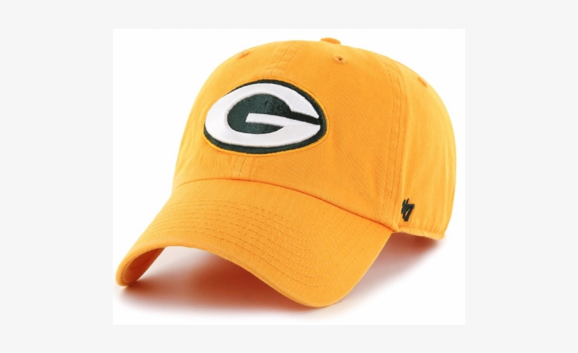 '47 Brand Green Bay Packers Nfl Clean Up Strapback - Green Bay Packers Cap Alternate, transparent png #453670