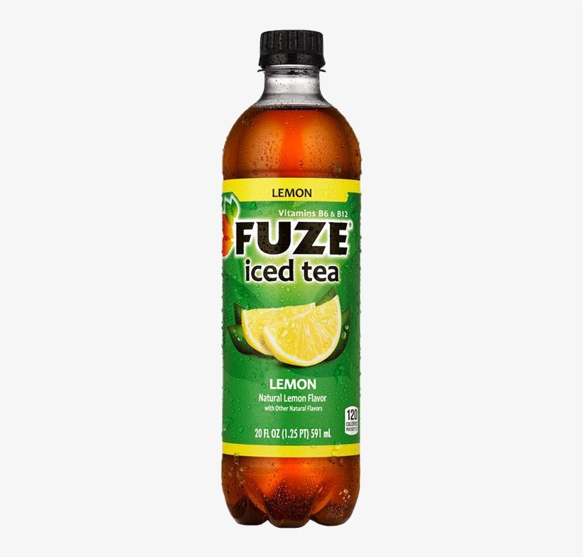 Fuze Iced Tea, Strawberry Red Tea - 20 Fl Oz, transparent png #453903