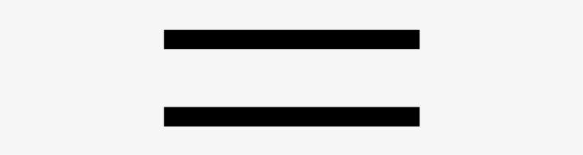 File - Equal Symbol - Svg - Equals Sign, transparent png #454078