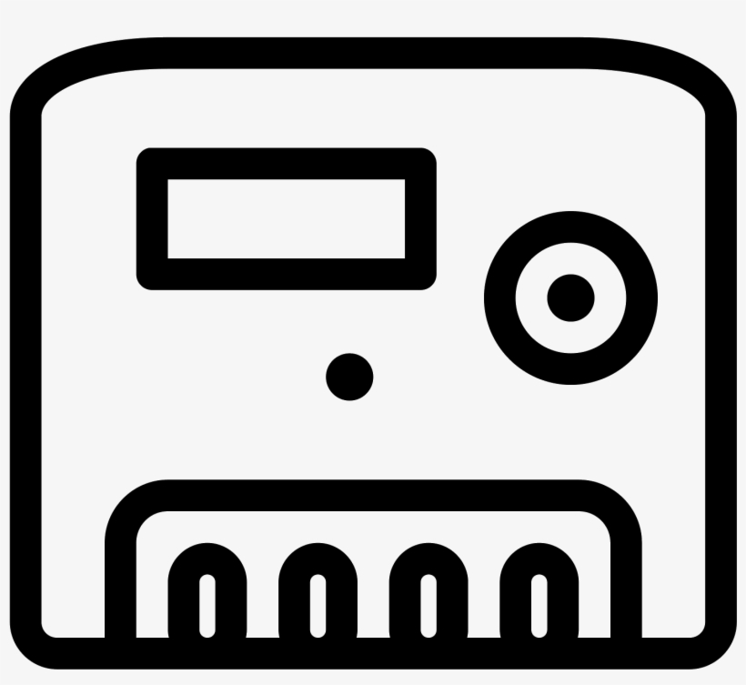 Energy Meter Icon - Symbol Of Energy Meter, transparent png #454543