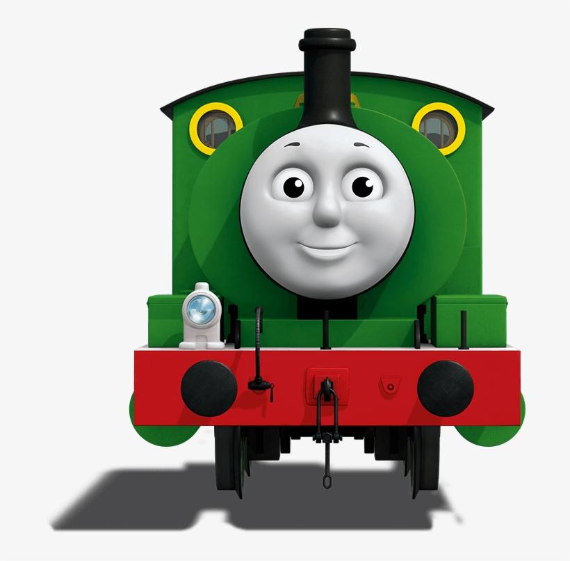 Download Locomotive Clipart Blue Thomas E Seus Amigos Percy Png