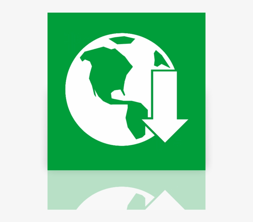 Download, Manager, Mirror, Internet Icon - Icon Internet Download Manager, transparent png #455598