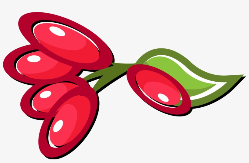 Fruits Clipart Berry - Fruit, transparent png #456314
