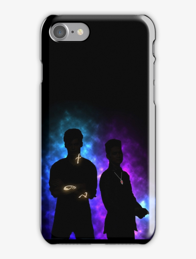 Alec Lightwood & Magnus Bane Iphone 7 Snap Case - Mu Hero Academia Case Iphone 7, transparent png #456507