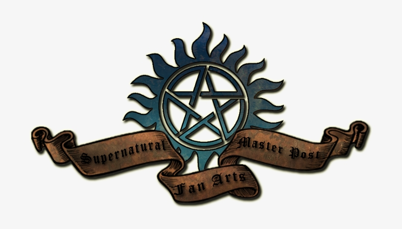 Supernatural Fan Arts Master Post - Supernatural Christmas! Round Ornament, transparent png #456695