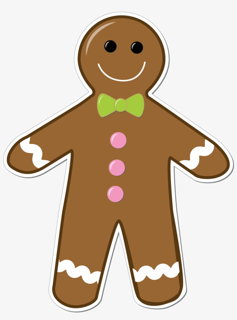 Clip Library Download Collection Of Free High Quality - Gingerbread Man Clip Art, transparent png #456720