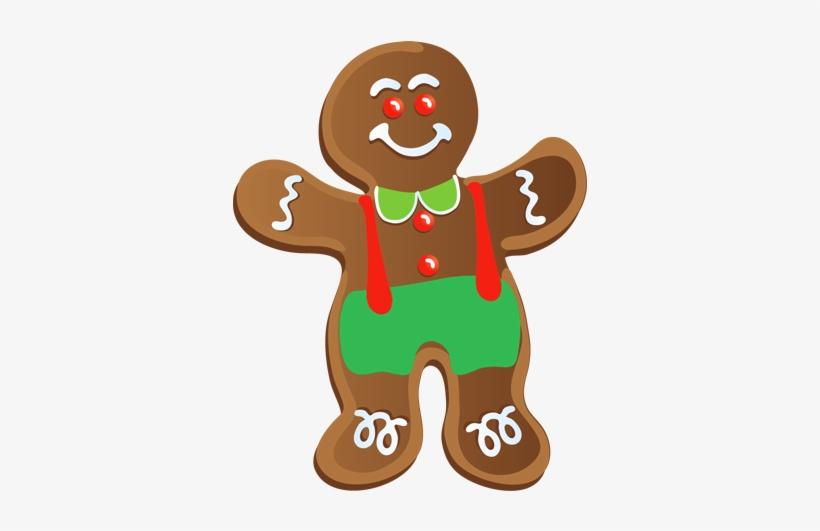 Gingerbread Man Clip Art, transparent png #456823