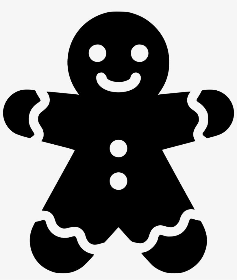 Gingerbread Man - - Gingerbread Man Svg Free, transparent png #456949