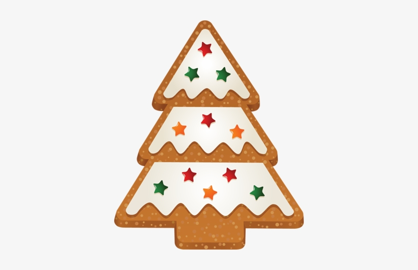 Clip Art Of Christmas Tree 2 Cookie - Christmas Tree Clip Art, transparent png #457086