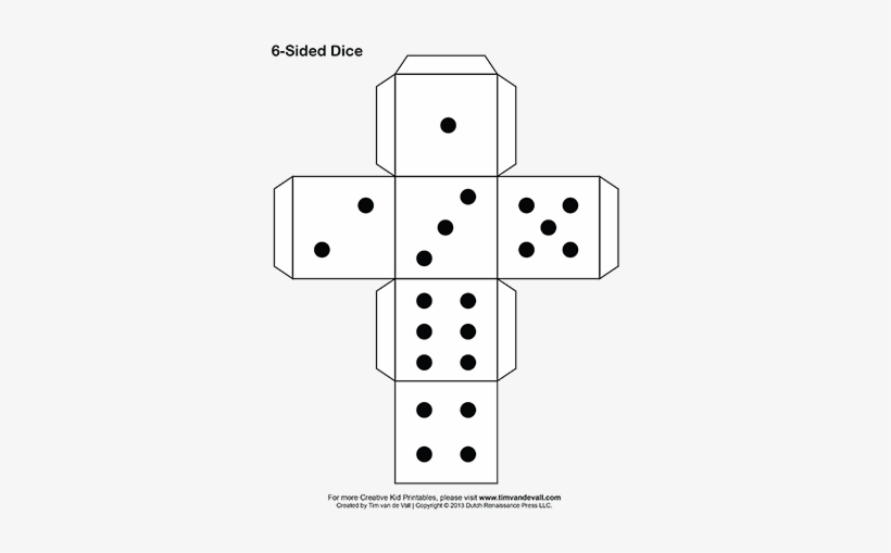 picture about Printable Dice called Printable Paper Cube - Printable Paper Cube Template - Free of charge