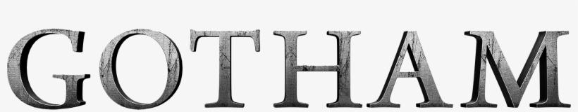 Gotham Tv Show Logo, transparent png #458966