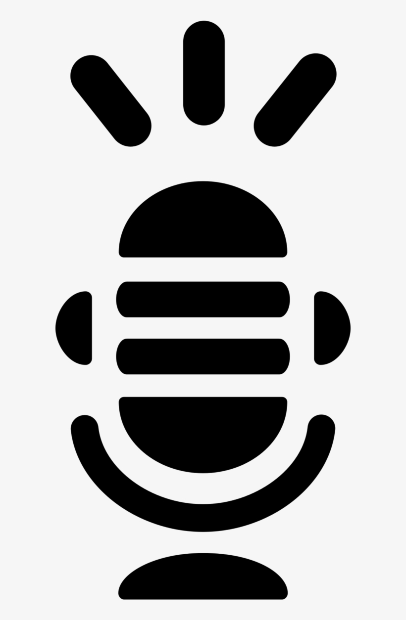 White Microphone Icon Png Free Transparent Png Download